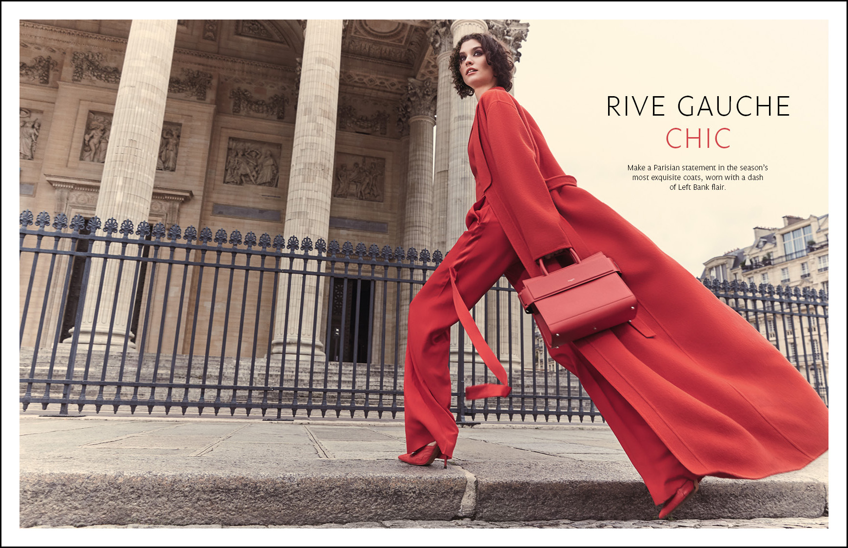 Signature Luxury Travel & Style magazine, Editorial COATS