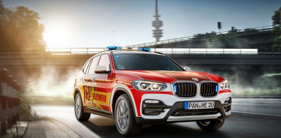 BMW X3 Retuschen für die Firma Haberl Electronics
