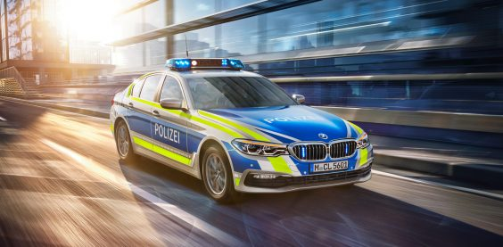 BMW G30 Limousine Sonnenaufgang