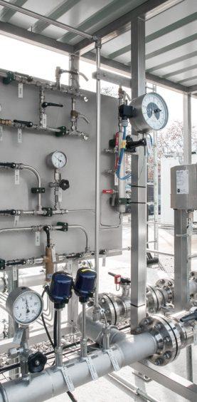 Linde Gasanlagen Ulm Bildbearbeitung
