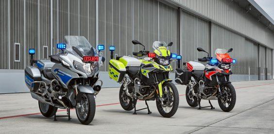 BMW Behörden Motorrad 3er Aufnahme