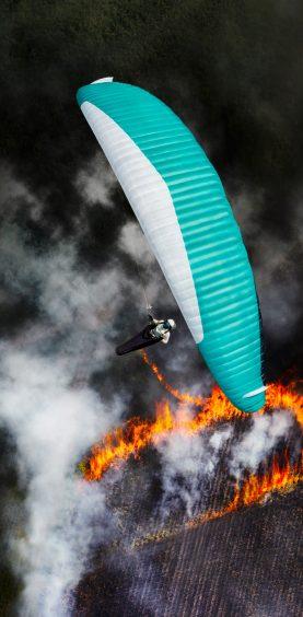 Felix Wölk Paragliding Valle del Cauca, Kolumbien